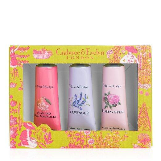 Crabtree & Evelyn Hand Therapy Sampler Cream Gift Set