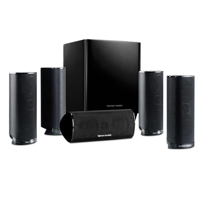 Harman Kardon HKTS 16 5.1-Channel Speaker System (Recertified)
