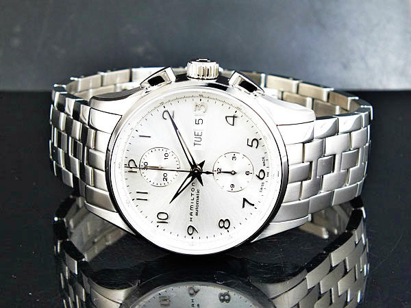 Hamilton Men's Jazzmaster Maestro Auto Chrono Watch