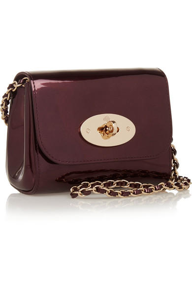 MULBERRY Lily mini metallic leather shoulder bag On Sale @ Net-A-Porter