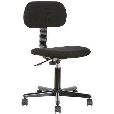 Mainstays Fabric Task Chair, Black