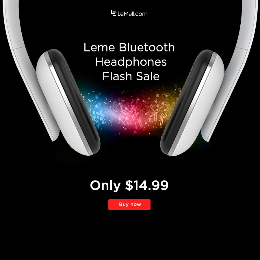 $14.99 Free Shipping Leme Bluetooth Headphones