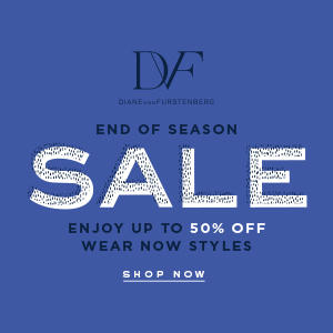 Up to 50% off End of Season Sale  @ DVF