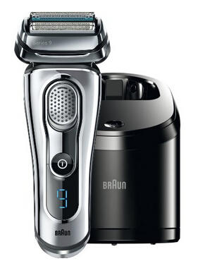 $204.99 Braun Series 9 9090cc Electric Shaver with Cleaning Center