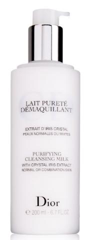 Christian Dior Purifying Cleansing Milk (Normal/Combination Skin) for Unisex, 6.7 Ounce