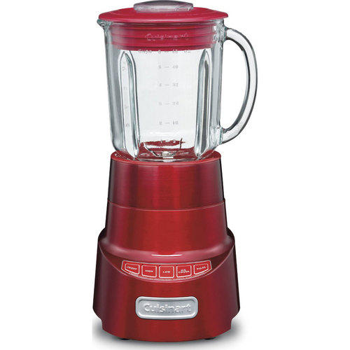 Cuisinart SPB-600 SmartPower Deluxe Die Cast Blender, 48-Ounce (Metallic Red)