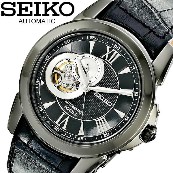 $165 Seiko Le Grand Sport Men's Watch SSA243@Ashford