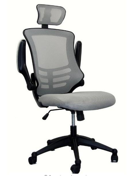 Techni Mobili High Back Executive Chair with Headrest