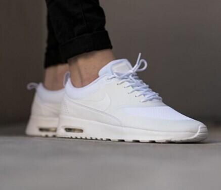 NIKE Air Max Thea mesh and leather sneakers @ Net-A-Porter