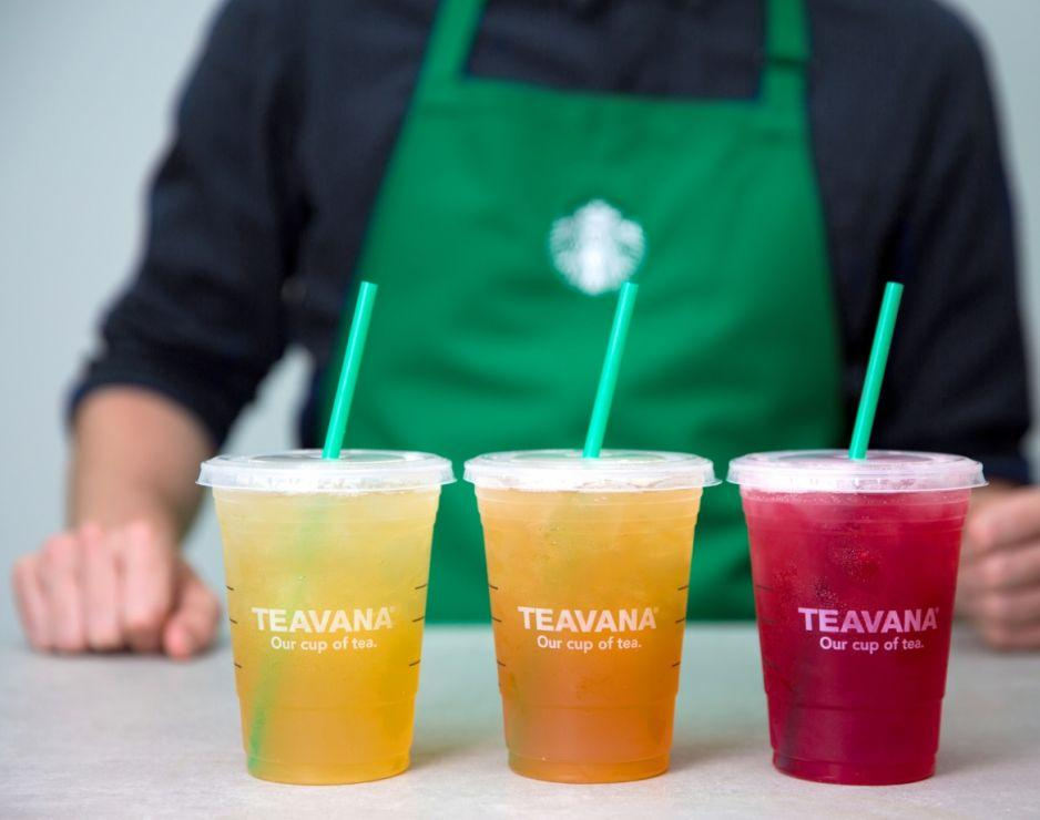 Buy one get one free! Starbucks Stores: Any Teavana Iced Tea