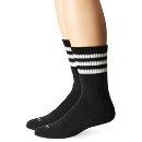 $9.80 Adidas Mens Team Crew Sock (Pack of 2)