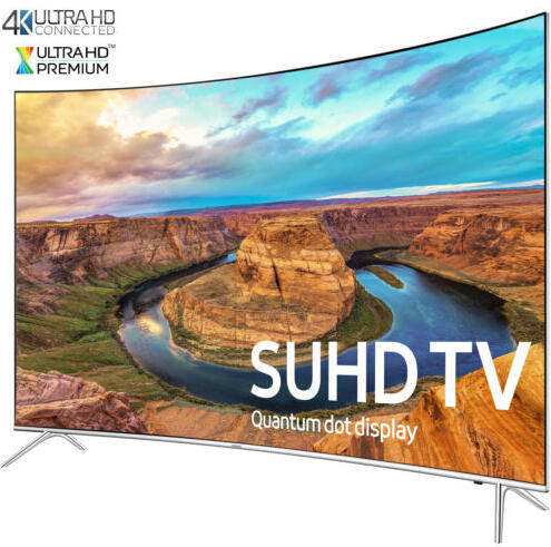 $1699 Samsung UN65KS8500 Curved 65-Inch Smart 4K SUHD HDR 1000 LED TV