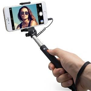 $4.99 TaoTronics Telescopic Monopod Mini Selfie Stick for Android and iOS