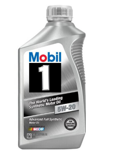 Mobil 1 44975 5W-20 Synthetic Motor Oil 1 Quart (Pack of 6)