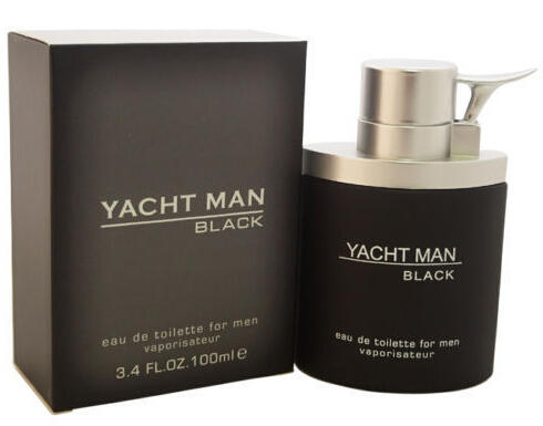 Yacht Man Black by Myrurgia 3.4 oz EDT Cologne for Men