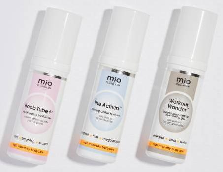 Free Gift Set (Vaule £29.5) + 10% Offwith £65 Purchase @ Mio Skincare