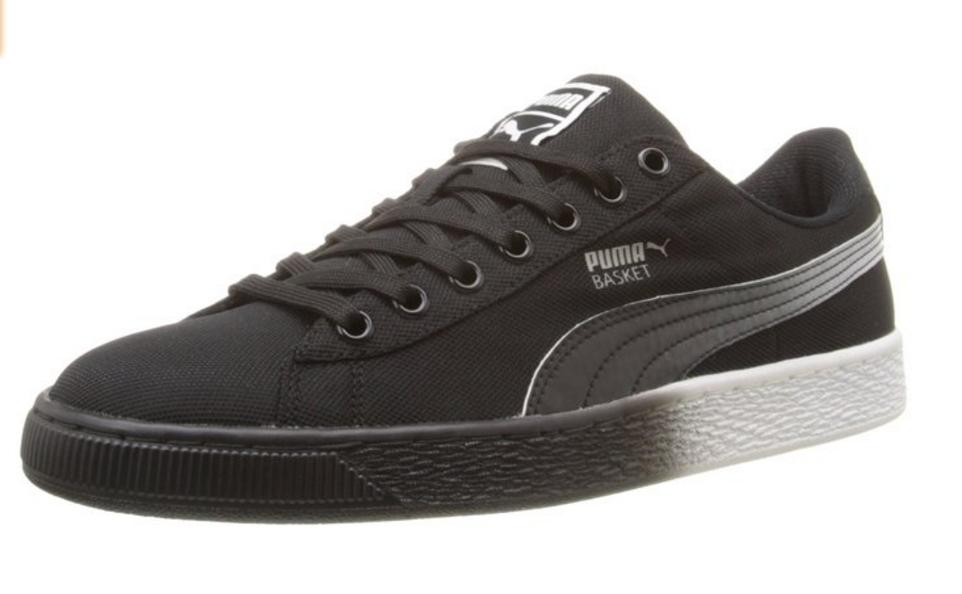 PUMA Men's Basket Classic Mesh Fade Fashion Sneakers