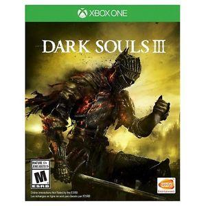 Dark Souls III Xbox One and Play Station 4