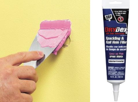 Dap 12346 Drydex Spackle Interior Exterior Paste, 5.5-Ounce