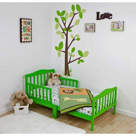 Dream On Me Classic Design Toddler Bed, Lime Green