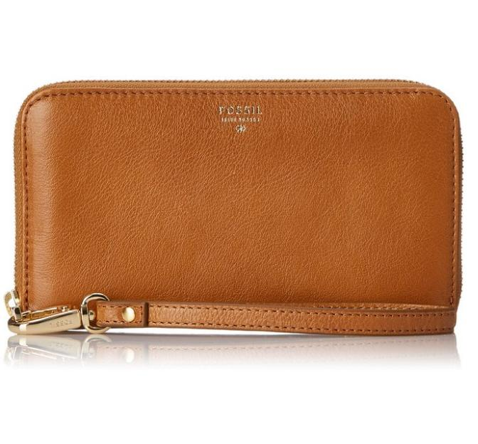 $31.99 Fossil Sydney Zip Phone Wallet