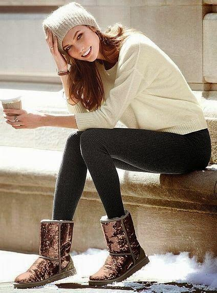 $71.99 UGG Classic Short Sparkles Women's Boots On Sale @ 6PM.com