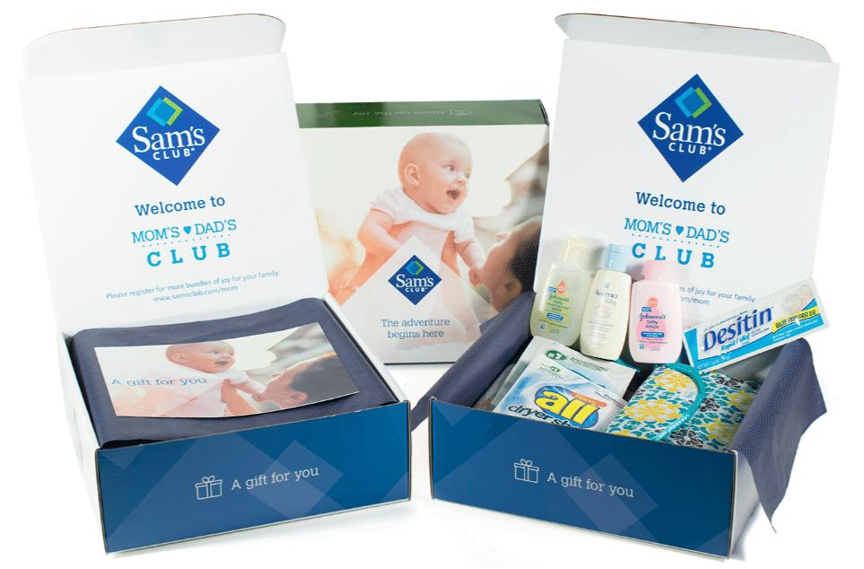 Free Sam's Club Baby Box of Samples