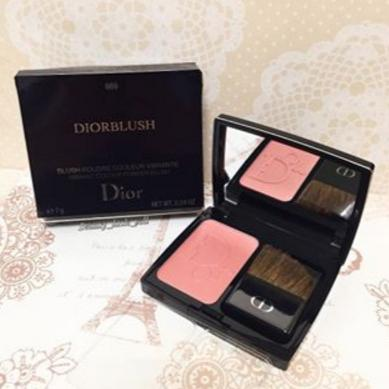 Christian Dior Blush Vibrant Color Powder Blush Cocktail Peach for Women