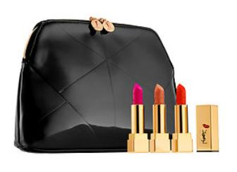 $74 Yves Saint Laurent Rouge Pur Couture Kiss & Love Collector's Trio ($111.00 value)