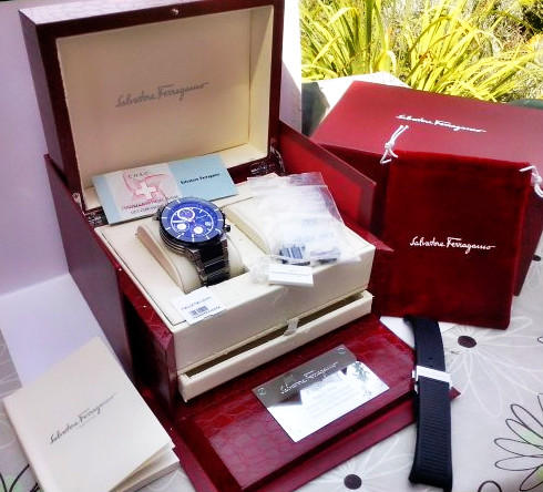 From $399.99 Father's Day Gifts from Salvatore Ferragamo Men's Watches @ Amazon.com