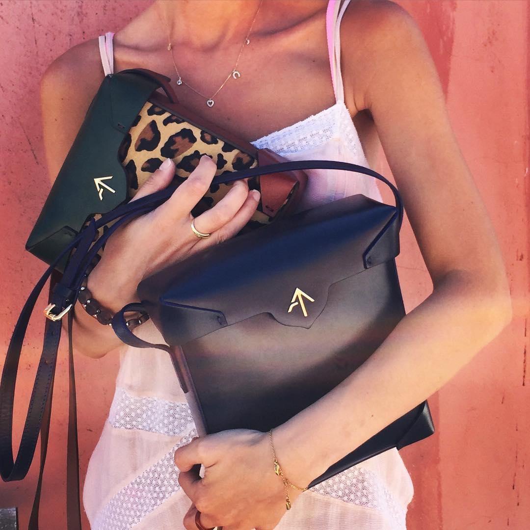 Up to 40% Off MANU ATELIER Handbags On Sale @ Farfetch