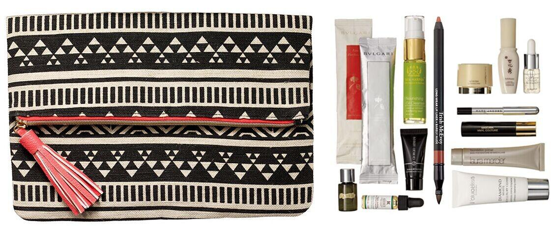 Free Cosmetic Bag Filled with Deluxe-sized Samples with Beauty or Fragrance Purchase of $275 or More @ Bergdorf Goodman