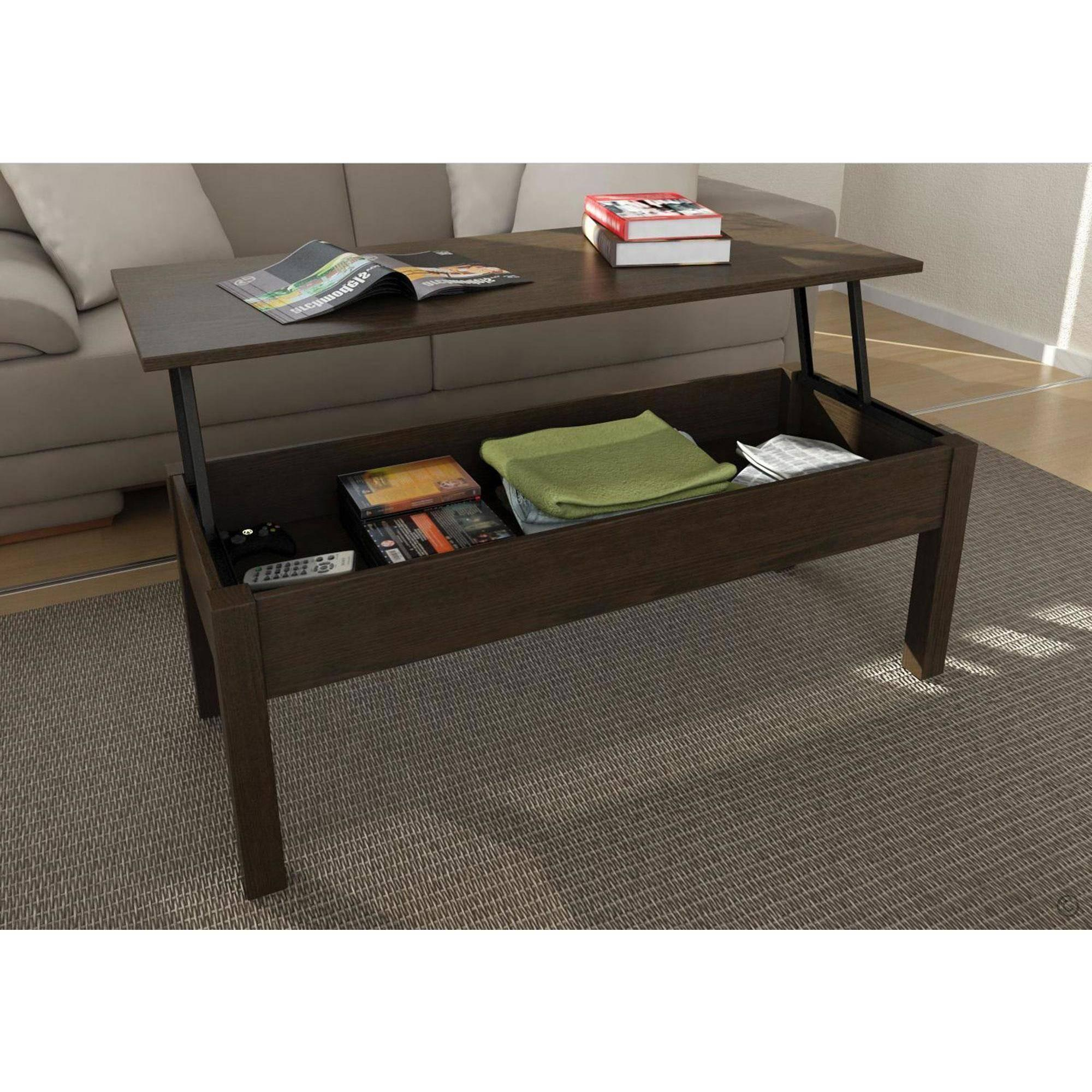 $79 Mainstays Lift-Top Coffee Table, Espresso