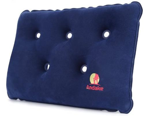 $5.99 Andake Versatile Inflatable Pillow