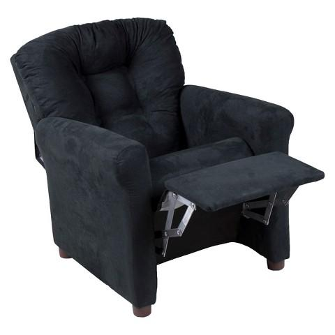 Traditional Juvenile Microfiber Recliner