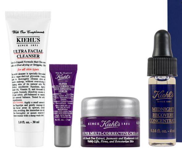 Free 4 piece Kiehl's gift set with $85 Kiehl's Purchase @ Bergdorf Goodman