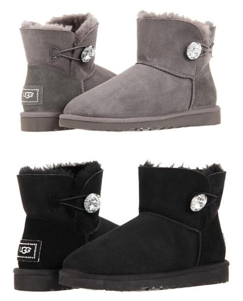 $80.99(reg. $185) UGG Mini Bailey Button Bling