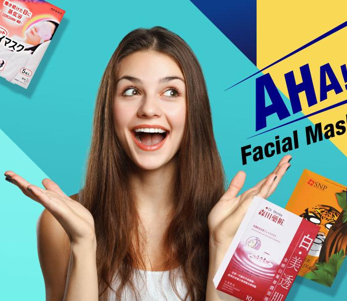Up to 81% Off Facial Mask Show Time @ Sasa.com