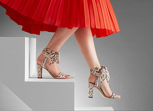 From $495 New Arrivals @ Jimmy Choo
