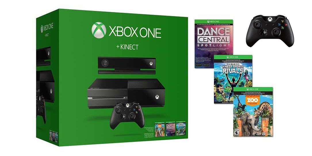 Xbox One + Kinect Bundle + Extra Wireless Controller
