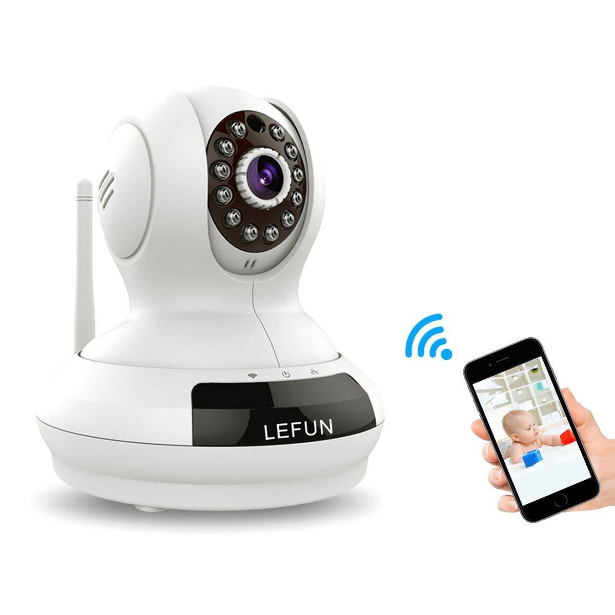 LeFun Baby Monitor Wireless WiFi IP Surveillance Camera