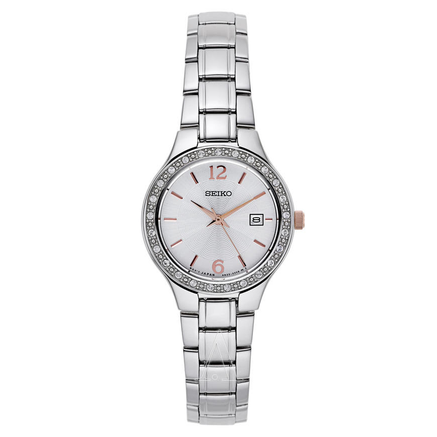 Seiko Women's Swarovski Bracelet Watch