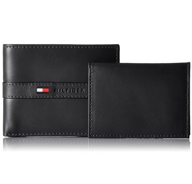 $18.97 Tommy Hilfiger Men's Leather Ranger Passcase Wallet
