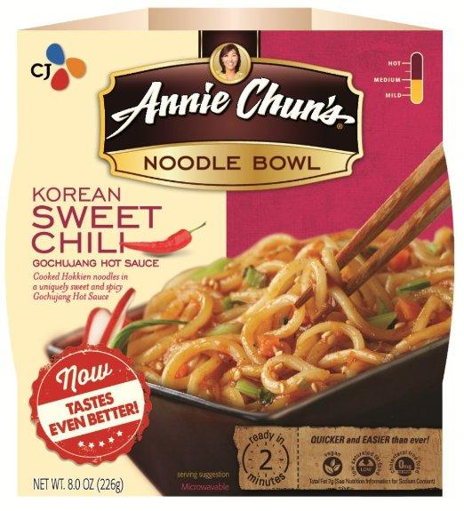 $14.1 Annie Chun's Noodle Bowl, Korean Sweet Chili, 7.9 Ounce (Pack of 6)