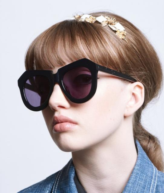 KAREN WALKER 'One Meadow - Arrowed' 50mm Sunglasses
