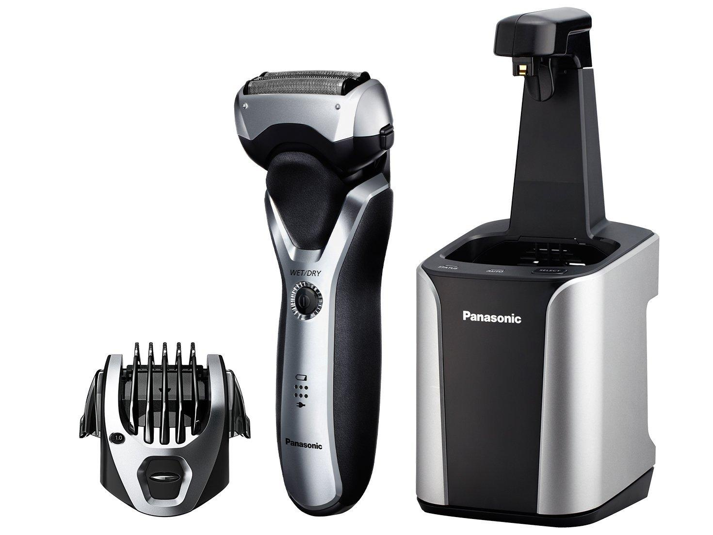 Panasonic ES-RT97-S Men's Electric Shaver and Trimmer with Cleaning System