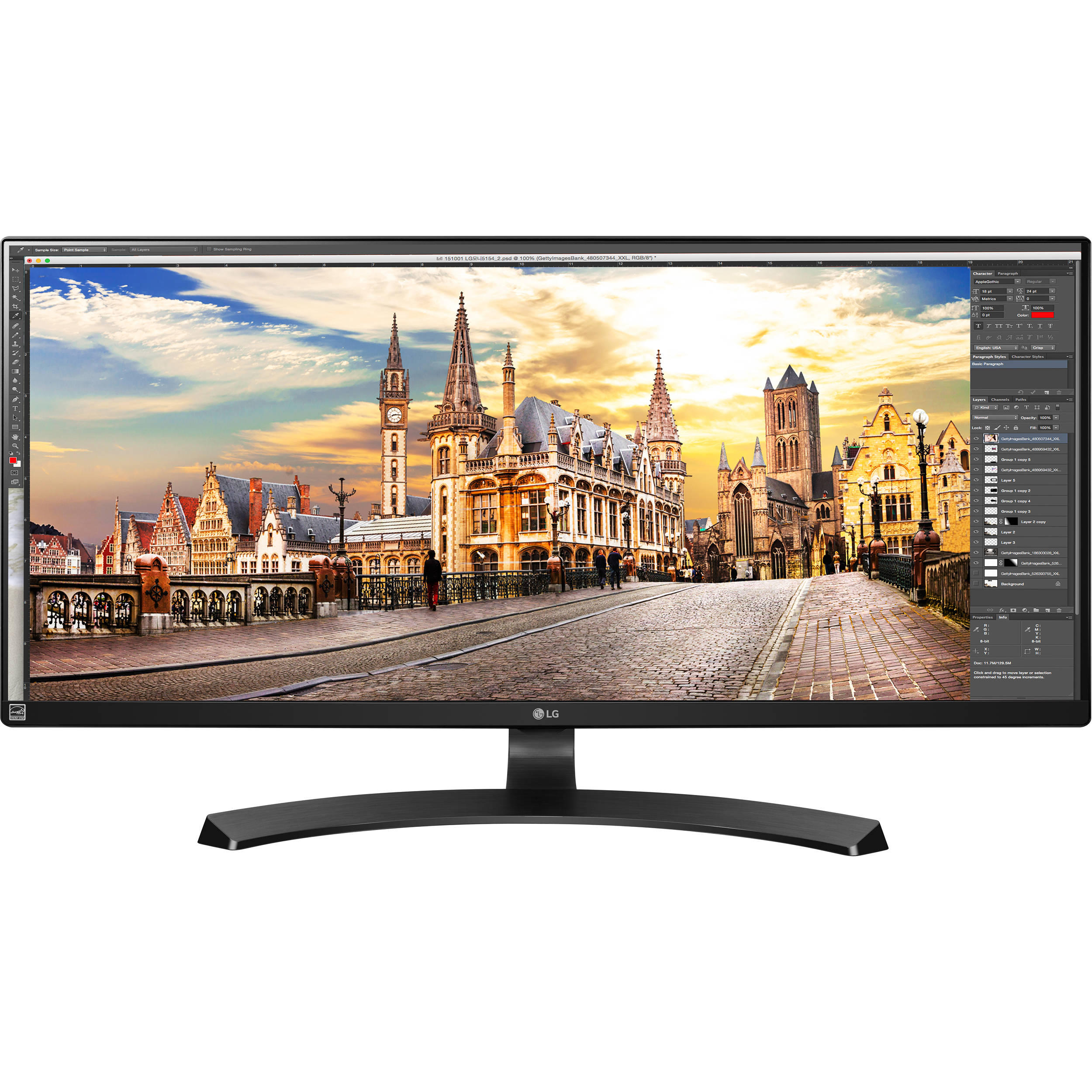 "$374.99 LG Electronics 34"" IPS WFHD Ultrawide Monitor"
