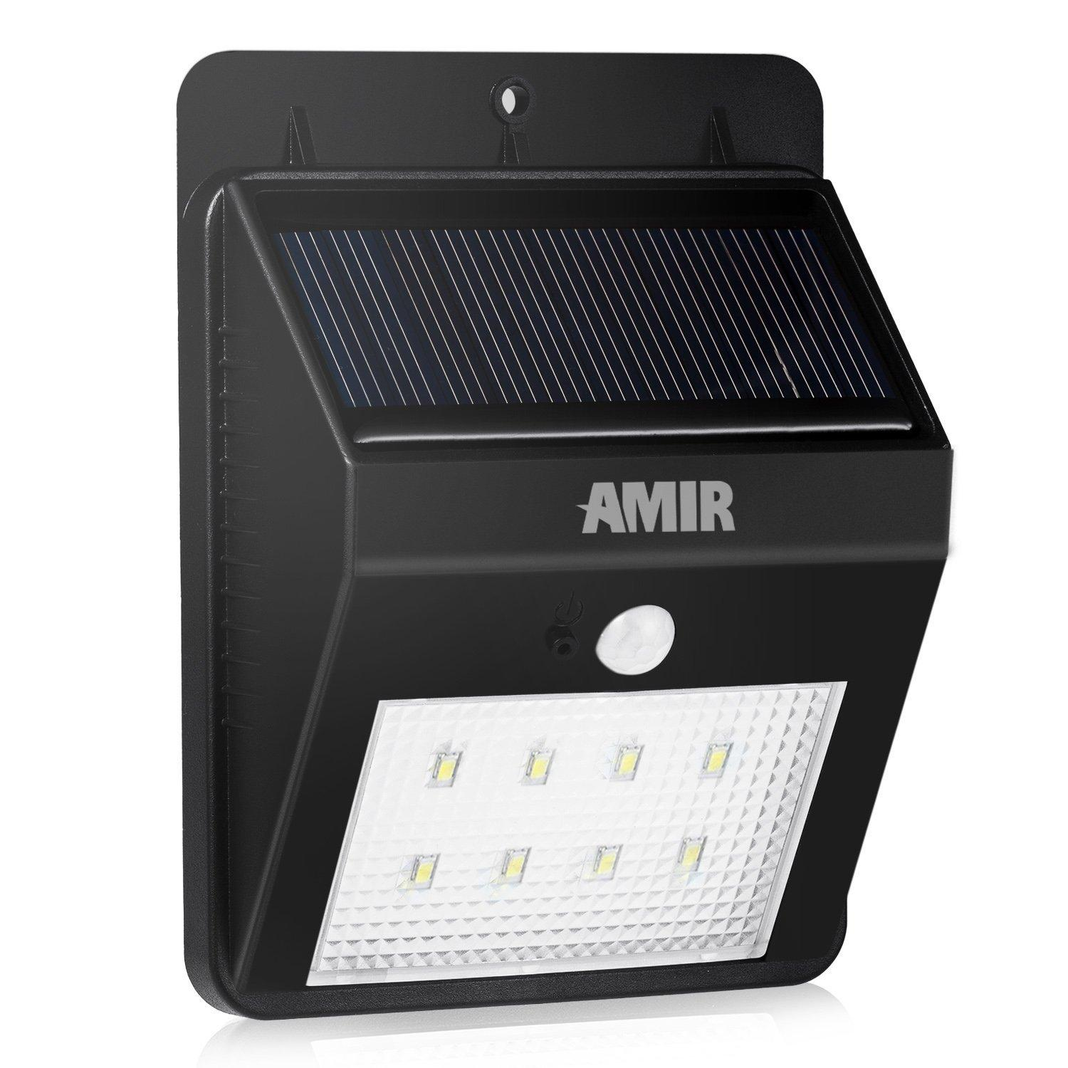 Amir Solar Energy Powered Outdoor Bright Light