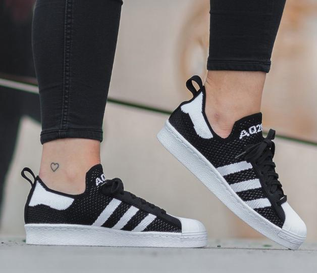 84 WOMEN'S ORIGINALS SUPERSTAR 80S PRIMEKNIT SHOES On Sale @ adidas