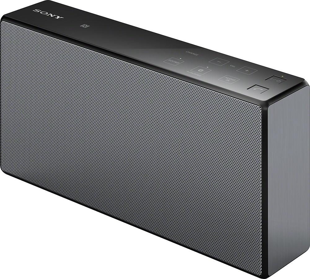 Sony Portable NFC Bluetooth Wireless Speaker System (Black) with Speakerphone